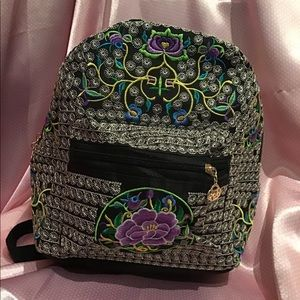 ✨💝NWT Beautiful Embroidered Backpack